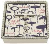 Mariposa Corkscrew Napkin Box