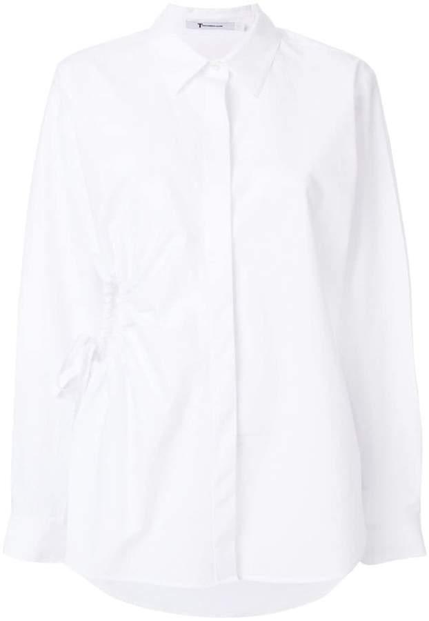Alexander Wang cut-out detail shirt