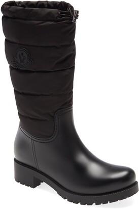 Moncler Ginette Tall Waterproof Rain Boot