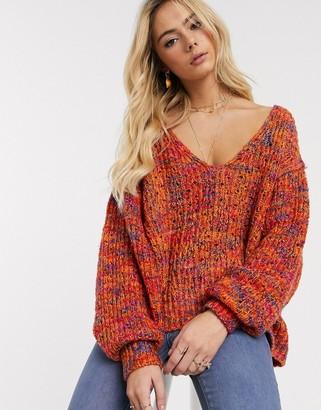 Free People Highland v-neck sweater