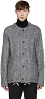 08sircus Grey Collarless Jacket