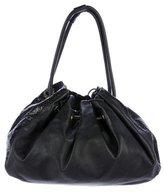 Kate Spade Leather Drawstring Bag