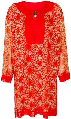 Jean Paul Gaultier Pre-Owned printed summer tunic