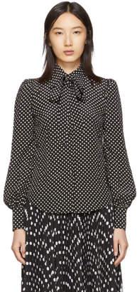 Marc Jacobs Black The Blouse Shirt