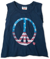 Junk Food Clothing Girls 7-16) Peace Sign Tee