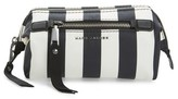 Marc Jacobs Stripes Trooper Cosmetics Bag