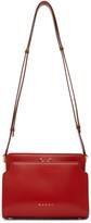 Marni Red Trunk Reverse Shoulder Bag