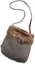 AE Furry Sweater Tote