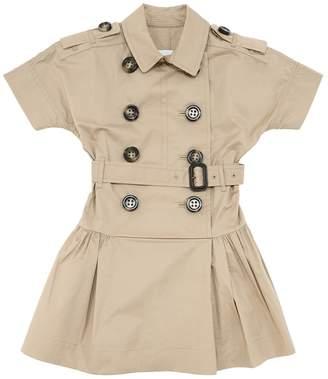 Burberry COTTON POPLIN TRENCH DRESS
