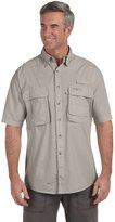 Hook & Tackle Men's Gulf Stream Short-Sleeve Fishing Shirt - 2XL