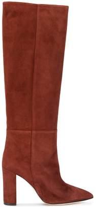 Paris Texas chunky heel boots