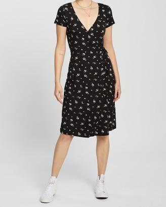 Hollister Knit Midi Dress