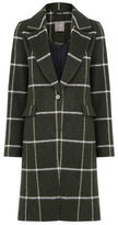 "Oasis SADIE CHECK COAT [span class=""variation_color_heading""]- Multi Green[/span]"