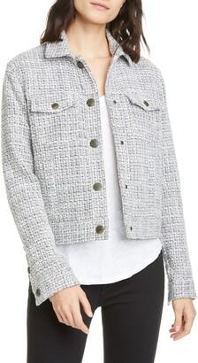 ATM Anthony Thomas Melillo Tweed Crop Jacket