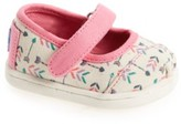 Toms Toddler Girl's Arrow Print Mary Jane Flat