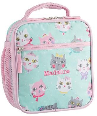 Pottery Barn Kids Mackenzie Aqua Pink Princess Kitty Lunch Boxes