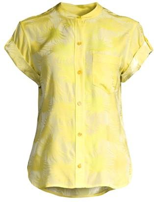 Equipment Narses Button-Up T-Shirt