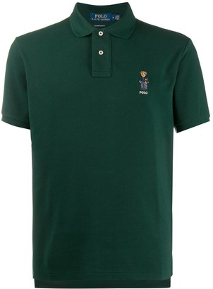 Polo Ralph Lauren Signature Embroidered Teddy Polo Shirt