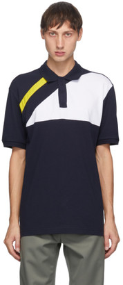 GR10K Navy Hakit Panel Polo