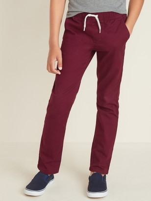 Old Navy Relaxed Slim Built-In Flex Pull-On Pants for Boys