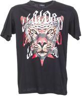 Marcelo Burlon County of Milan Black Cotton Printed T-shirt Feliciana