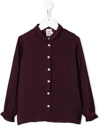 Caffe' D'orzo Dionea frill cuff shirt