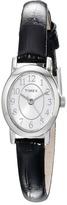 Timex Cavatina Leather Strap Watch