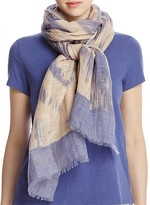 Eileen Fisher Abstract Print Scarf