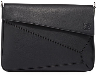 Loewe Men's Puzzle Leather Messenger Bag