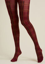 ModCloth As Plaid-vertised Tights