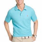 Izod Short Sleeve Solid Knit Polo Shirt