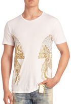 Robin's Jeans Headress Embroidered T-Shirt