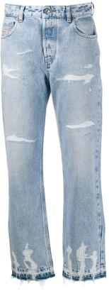 Diesel Distressed Denim Jeans