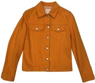 Helmut Lang Orange Denim - Jeans Jackets