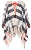 Burberry Cashmere and merino wool cape
