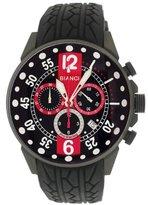 Roberto Bianci Men's 7098mrub-gun_blkred Pro Racing Analog Display Analog Quartz Black Watch