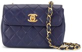 Chanel Pre Owned 1985-1993 quilted mini shoulder bag