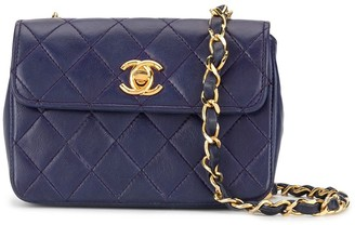 Chanel Pre-Owned 1985-1993 quilted mini shoulder bag