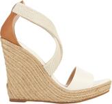 Jean-Michel Cazabat Elastic Strap Espadrille Wedge Sandals