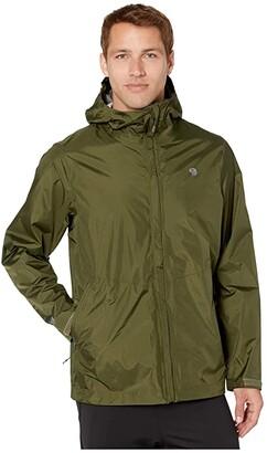 Mountain Hardwear Acadia Jacket (Dark Army) Men's Coat