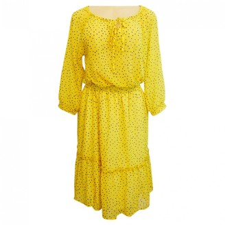 Anthropologie Yellow Dress for Women