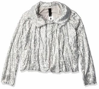 Norma Kamali Women's All Over Sequin Jacket