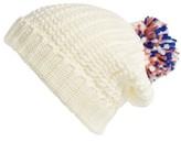 BP Women's Knit Pom Beanie - Ivory