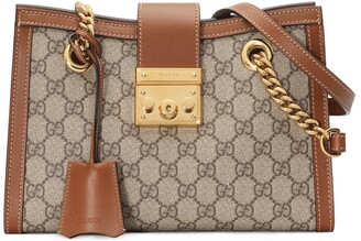 Gucci Padlock small GG shoulder bag