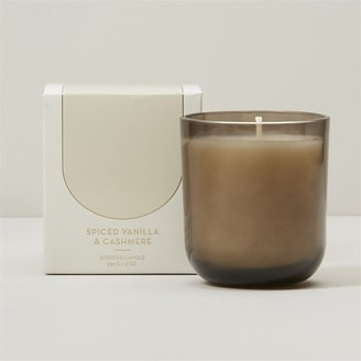 Indigo Scents POURED GLASS CANDLE - SPICED VANILLA & CASHMERE
