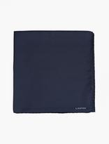 Lanvin Navy Silk Scarf