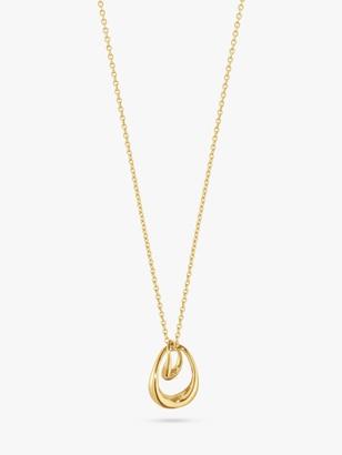 Georg Jensen Offspring Pendant Necklace, Gold