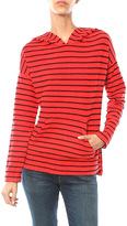 Sundry Stripe Pullover Hoodie