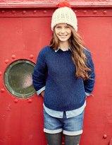 Boden Sparkle Rib Sweater