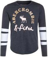 Abercrombie & Fitch COLORBLOCK SPORTY Long sleeved top navy